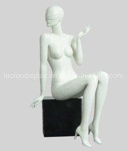 Abstract Fiberglass Mannequin with Hair Style pictures & photos