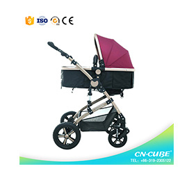 Baby Pram 3 in 1 Baby Stroller From China Whole Sale Baby Stroller pictures & photos