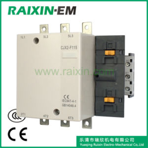 Raixin Cjx2-F115 AC Contactor Electrical Contactor 3p AC-3 380V 55kw pictures & photos