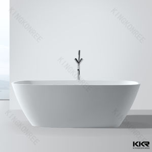 High Ending Oval Freestanding Bathtub for Bathroom 061503 pictures & photos