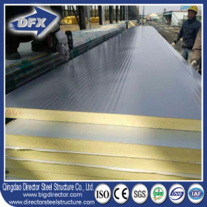 PU Polyurethane Wall or Roof Insulated Sandwich Panel pictures & photos