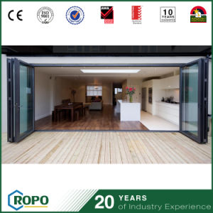 Largest Opening Modern Style Aluminum Folding Door for Living Room pictures & photos