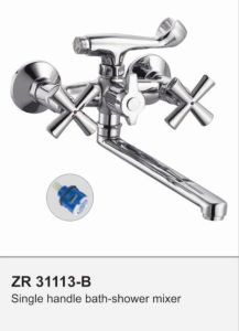 Dual Handle Shower Faucet Mixer pictures & photos