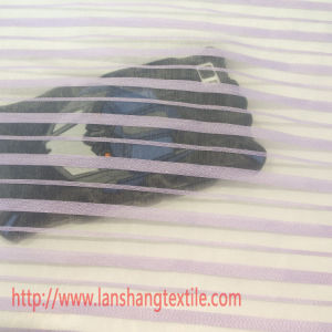 Chemical Fabric Dyed Jacquard Stripes Polyester Fabric for Garment Home Textile pictures & photos