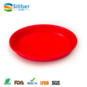 Food-Safe Kids Food Plate BPA Free Non Slip Silicone Placemats pictures & photos