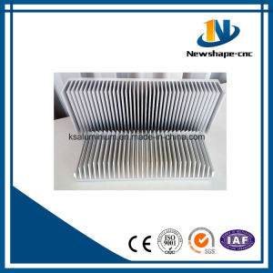 Aluminum Profiles 6063 Extrusion Cylinder Heat Sink pictures & photos