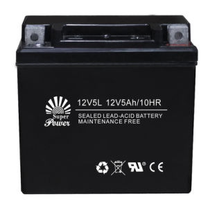 VRLA Motorcycle Battery 12V 5ah with CE UL Certificate Called 12V5L pictures & photos