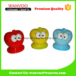 Small Cartoon Children′s Ceramic Money Box for Decoration pictures & photos