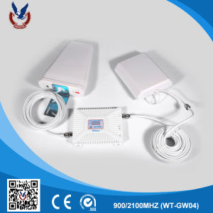 Factory Price 900/2100MHz 2g 3G Mobile Phone Signal Booster for Home pictures & photos
