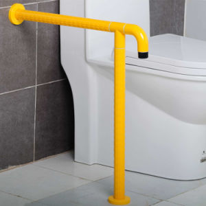 Nylon Bathroom T-Shape Grab Bars with Fixed Leg for Disabled pictures & photos