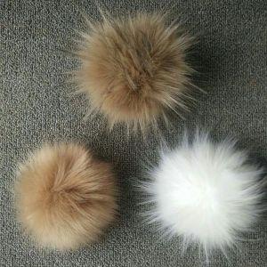 Faux Raccoon Fur Pompom pictures & photos