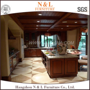 N & L Chinese Furniture Solid Wood Kitchen Cabinet pictures & photos