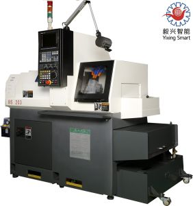 BS203 3 Axis Swiss Type CNC Lathe / Mitsubishi CNC pictures & photos