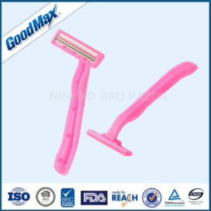 Woman Use Twin Blade Disposable Razor High Quality pictures & photos