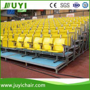 Jy-716 Triangular Steel Frame Structure Soccer Bleachers Plastic Chair Outdoor Bleachers pictures & photos