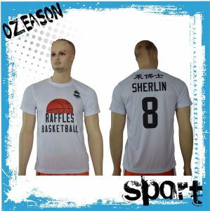 Dri Fit Hot Sale Printing Design Sports T Shirt Wholesaler Factory pictures & photos