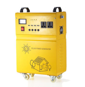 100W off Grid Home Solar Energy Generator for Home Appliances pictures & photos