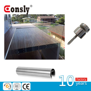 Stainless Steel Tempered Glass Handrail for Fence/Porch/Swimming Pool/Staircase pictures & photos