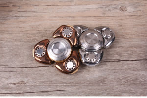 Titanium Alloy Finger Spinner with Hybrid Bearing pictures & photos