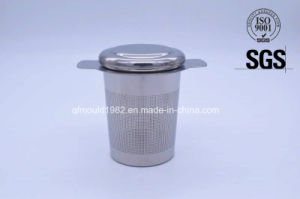 Food Safe 18-8 Stainless Steel 304 Tea Strainer Tea Infuser with Handle pictures & photos