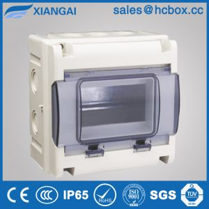 Hc-Wd 5ways Waterproof Distribution Box Electrical Cabinet Switch Box IP65 Box pictures & photos