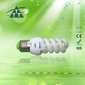 11W 13W 15W Full Spiral 3000h/6000h/8000h 2700k-7500k E27/B22 220-240V Energy Saving Tube pictures & photos