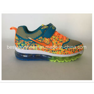 Kids Shoes Sports Running Shoes with TPR Outsole pictures & photos