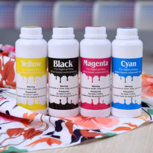 for Epson 5113 Dx7 Sublimation Ink Cmyk for Sublimation Printing for 40GSM/50GSM Sublimation Paper pictures & photos