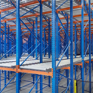China Manufacturer Gravity Pallet Racking for Live Storage pictures & photos