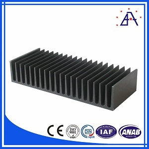 Aluminum Alloy 6063 Wholesale Heat Sink for Power Amplifier pictures & photos