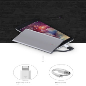 2017 New Design Credit Card-Shaped Power Bank for iPhone Mobile Phone Accessories pictures & photos