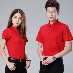 Cotton Custom Embroidered and Printing Fashion Polo T Shirt pictures & photos