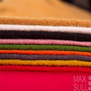 Nine Kinds of Colours of Wool/Nylon Fabric in Red pictures & photos