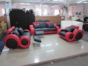 Modern Leather Sofa for Home Furniture Living Room Sofa Set pictures & photos