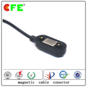 2pin Rectangular Magnetic Charging Cable Connector in Werable Products pictures & photos