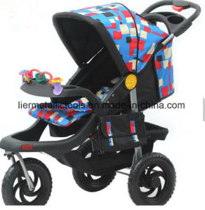3 Wheels Foldable Baby Stroller with Carseat pictures & photos