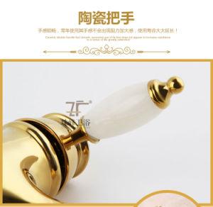 New Design Single Handle Zf-706 Jade Brass Bidet Faucet pictures & photos