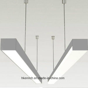 Modern Commercial Recessed Linear LED Light for Office Hanging pictures & photos