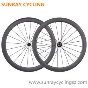 50mm Carbon Tubular Wheels Road Carbon Bicycle Wheels pictures & photos