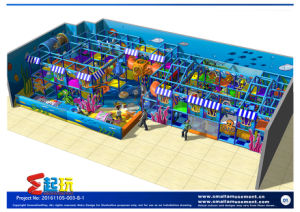 Innovation Play Ocean Themed Indoor Playground for Children