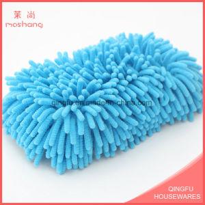Soft Microfiber Sponge Chenille Sponge Pad pictures & photos