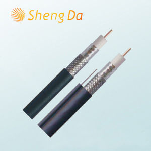 Shielded CCTV and CATV Communication Rg-6 Coaxial Cable pictures & photos