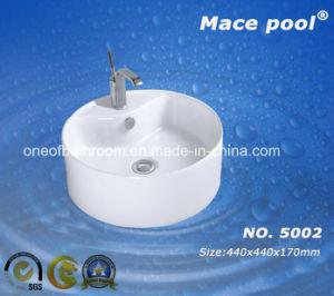 Asia Popular Design Ceramic Art Basin Wash Sink (5002) pictures & photos