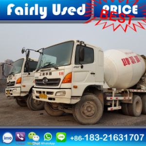 Used 6X4 Hino Truck Mixer of Hino Transit Mixer pictures & photos
