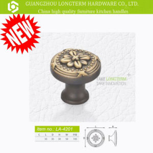 Flower Pattern Beautiful Furniture Cabinet Knob pictures & photos