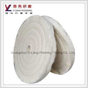 Cotton Mirror Wheel for Aluminum Bath Products pictures & photos
