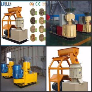 Small Pellet Granulator Machine Flat Die Wood Pellet Mill pictures & photos