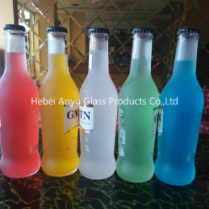 275ml Frosted Beverage/ Rio Cocktail Glass Bottle with Crown Cap pictures & photos