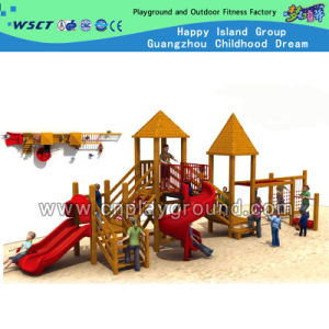 Classical Atmosphere Wooden Outdoor Playground Equipment for Kids (HD-5701) pictures & photos