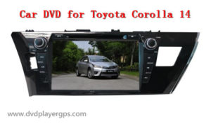 Andriod Car DVD Player for Toyota Corolla 14 pictures & photos